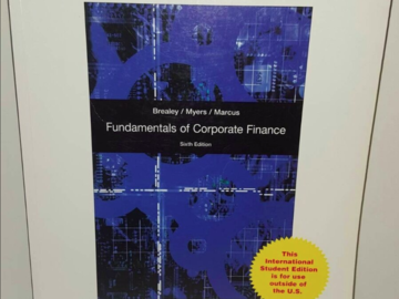 Selling: Fundamentals of Corporate Finance
