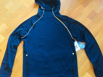 Myydään: Men's Running Hoodie NEW unused
