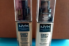 Venta: CAN'T STOP WON'T STOP FULL COVERAGE FOUNDATION nyx