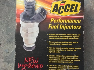 Selling with online payment: Accel 3 hole 19# injectors