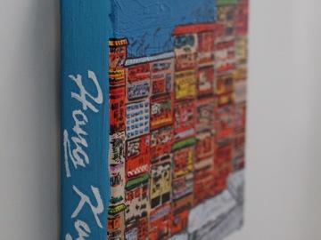 : Acrylic Painting : Yaumatei Graffiti Wall