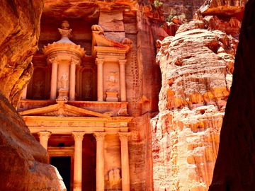 Offering with online payment: Petra 2 days from Eilat