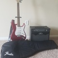 Renting out: Guitar + Case + Amplifier + Clip-On Tuner