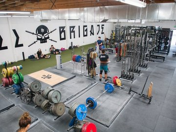 Available to Book: Barbell Brigade