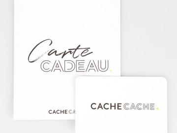 Vente: Carte cadeau Cache Cache (50€)