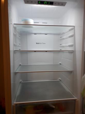 LG Fridge Freezer GBB59SWJZB (White) price can be adjusted - Aalto