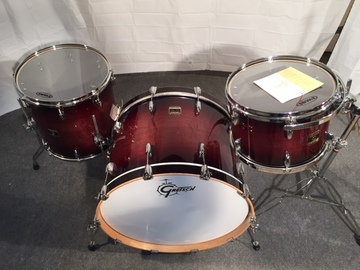 Selling with online payment or cash/check/money order/cash app/Venmo: Gretsch Renown Maple 4 pc, Cherry finish, 1st gen., $2K obo