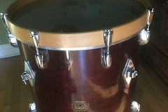 "Selling with online payment: 18x18"" gretsch floor tom, converted to bass drum."