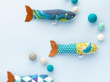 Products: Organic Catnip Fish