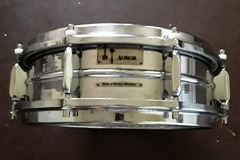 "Not fully listed or priced yet, stay tuned: Sonor d444  5x14"" 60's snare drum."