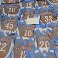 Buy Now: New Adult Lot of 49 Basketball Jerseys Various Sizes XS-2XL Red W