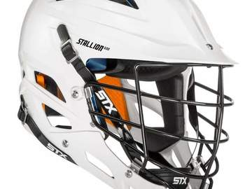 Buy Now: *OVER 78% off MSRP*  (2) STX Stallion 600 Adult Lacrosse Helmet