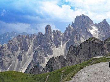 Climbing partner : Dolomites Mid August.