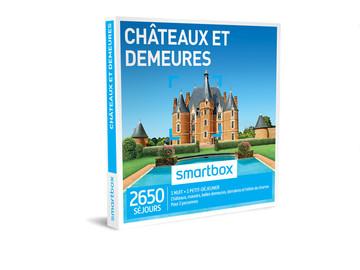 """Vente: Coffret Smartbox """"Châteaux et Demeures"""" (69,90€)"""