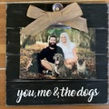 Selling: you, me & the dogs frames black Qty 2