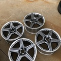 "Selling: 19"" AMG STYLE VI 2-PIECE WHEELS"