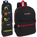Liquidation Lot: 24 x Wholesale Trailmaker 17 Inch Backpack - 5 Pop Colors