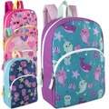 Liquidation Lot: 24 x 15 Inch Character Backpacks - Girls Assortment