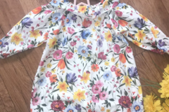 Selling with online payment: Baby girl handmade dress, immaculate, age 6-9 Mths