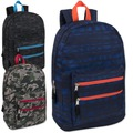 Liquidation Lot: 24 x 18 Inch Graphic Backpack With Double Front Pocket - Boy