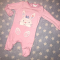 Selling with online payment: Baby girl sleepsuit, age newborn