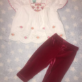Selling with online payment: Baby girl outfit, Monsoon, 0-3 Mths