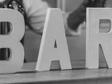Ilmoitus: BAR-kirjaimet