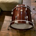for pickup only: Gretsch USA CUSTOM 14x18 bass drum Rosewood Gloss $950