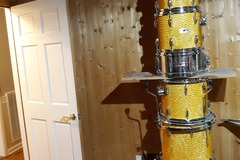 Selling with online payment: Gorgeous like new Yamaha Tour Custom kit