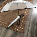 Ilmoitus: Läpinäkyvät sateenvarjot