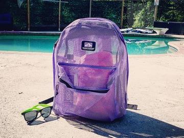 Buy Now: 24 x Trailmaker 17 inch Mesh Backpack - Girls