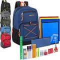 """Liquidation Lot: Preassembled 18"""" Urban Deluxe Bungee Backpack & 30 Piece Supplies"""
