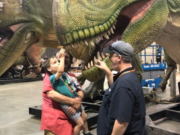 Book & Pay Online (per party package rental): Dino Tour Birthday Party Package (Ages 4 and up)