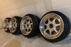 Selling: BBS Nardi 3 piece wheels