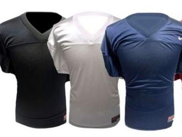 Liquidation Lot: 95% OFF MSRP – (25) Nike Black Adult Full Force Game Jerseys