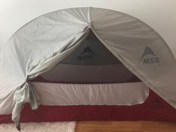 Renting out (per night): MSR Hubba NX Solo