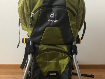 Renting out (by week): Deuter Kid Comfort II lastenkantorinkka