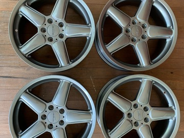 "Selling: AC Schnitzer type 2 19"" square wheels BMW"