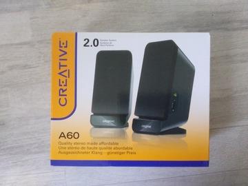 Myydään: Speakers CREATIVE A60