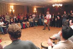 Custom Package: Jim Greiner's Hands-On! Drumming Worldwide Events