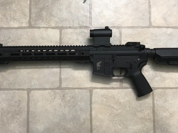 Selling: Apex M4 with SAI GRY rail