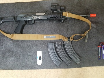 Selling: Real Sword Type 56-2 package with extras!