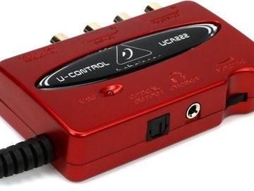 Myydään: Behringer UCA222 USB soundcard