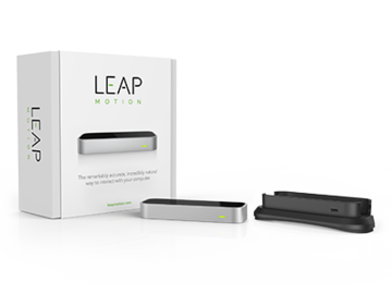 Myydään: Leap motion controller with VR mount