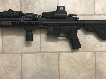 Selling: 416 with 10.5 trademarked Geissele replica rail