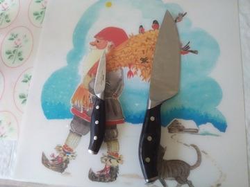 Myydään: 2 kitchen knives
