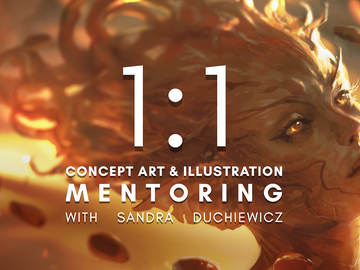 1 on 1 Mentoring: Concept Art & Illustration