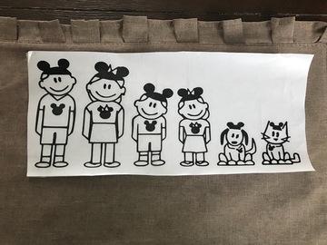 Buy Now: Disney Stick Family Vinyl Decal For Car