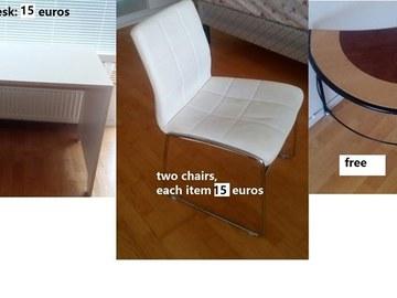 Myydään: Furniture