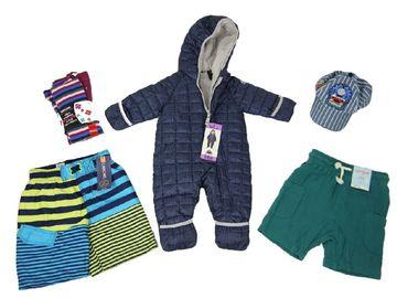 Liquidation Lot: 50 pcs Mixed Brands Kids Clothing Size 4-18 Boy Girl lot